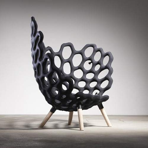 Textile Moulded Chair