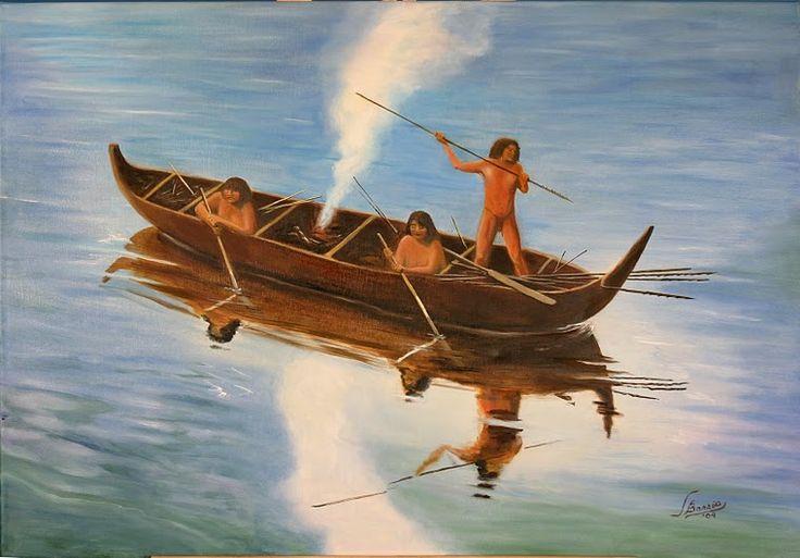 yamanaes  pescando