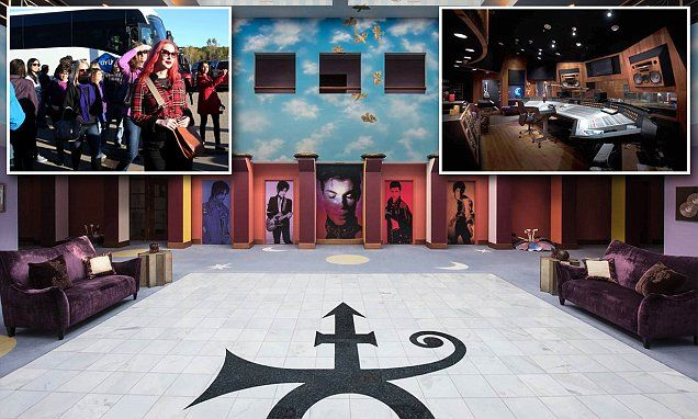 Prince's secretive studio complex opens to the public