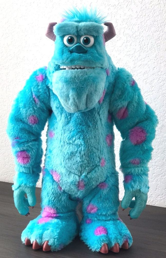 "Sully Monsters University Disney Pixar Shake and Scare Plush Interactive 15"" 2F  