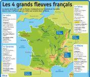 Les 4 grands fleuves français - Le Petit Quotidien, le seul site d'information quotidienne pour les 6-10 ans !