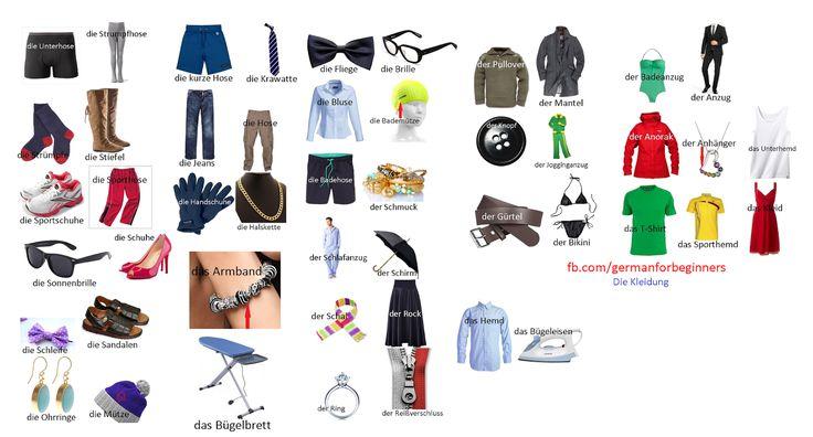 German For Beginners: Die Kleidung