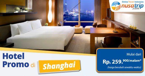 Untuk Traveler yang ingin berlibur ke Shanghai, jangan lupa untuk pesan #Hoteldishanghai di website #NusaTrip dari sekarang, mulai Rp. 259900/malam (harga berubah sewaktu-waktu), untuk pemesanan klik http://goo.gl/Zc6vPp