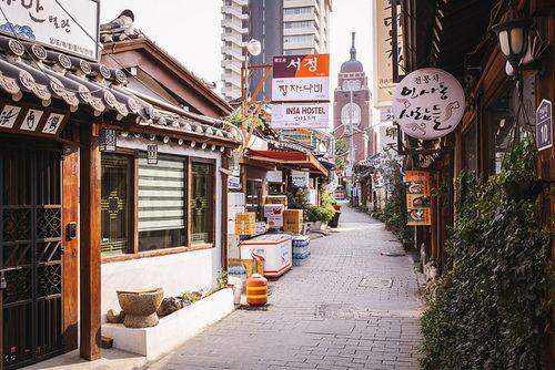 한국에 도착 | via Tumblr