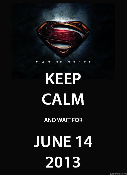 ... Wait for June 14 2013