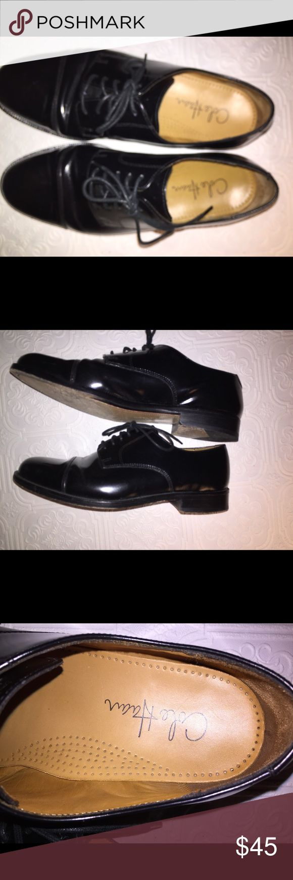 Cole Hann dress shoes. Beautiful❗️ Size 8.5 Cole Hann authentic dress shoes. The soles are in good condition. Shoes have a wrinkle across top where the foot bends but these are absolutely beautiful for the price❤️❤️❤️ Cole Haan Shoes Oxfords & Derbys