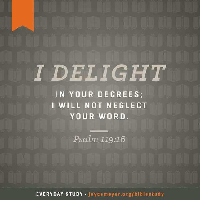 Psalm 119:16