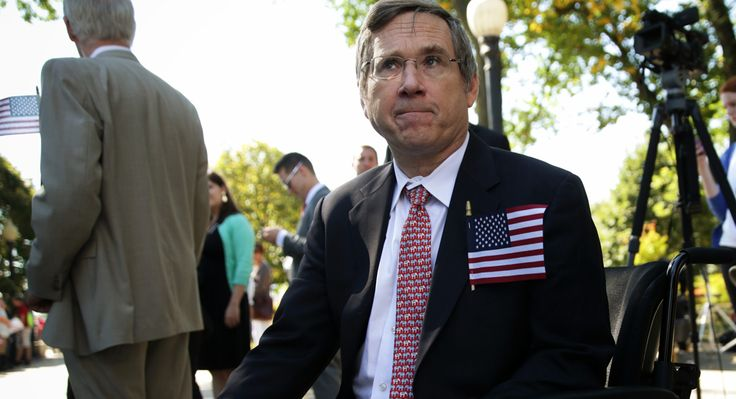 How gaffe-prone Sen. Mark Kirk, written off by much of his party, is trying to hang on in Illinois.