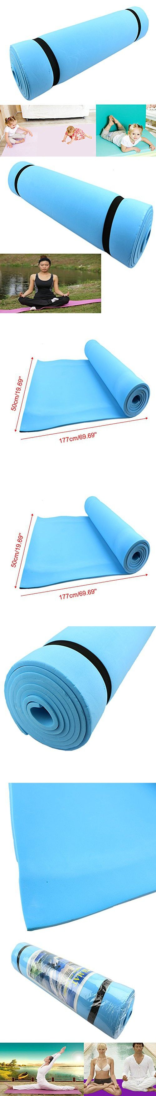 1PC New Eco-friendly Dampproof Sleeping Mattress Mat Exercise EVA Foam Yoga Pad