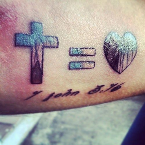 Best 25 christianity tattoos ideas on pinterest for Is god against tattoos