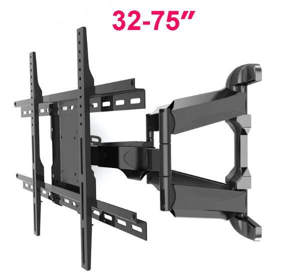 ">> Click to Buy << Retractable Universal 32""-75"" TV Wall Mount Heavy Duty Rotation Tilt LCD LED monitor/ tv Bracket Arm VESA Max 600*400mm MA70A #Affiliate"