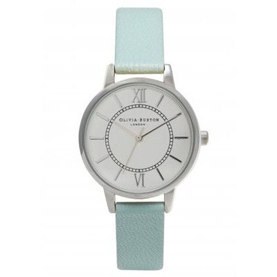 WONDERLAND WATCH – MINT & SILVER The Dressing Room - Fashion Styles UK