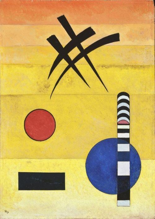 Sign. Wassily Kandinsky, 1925