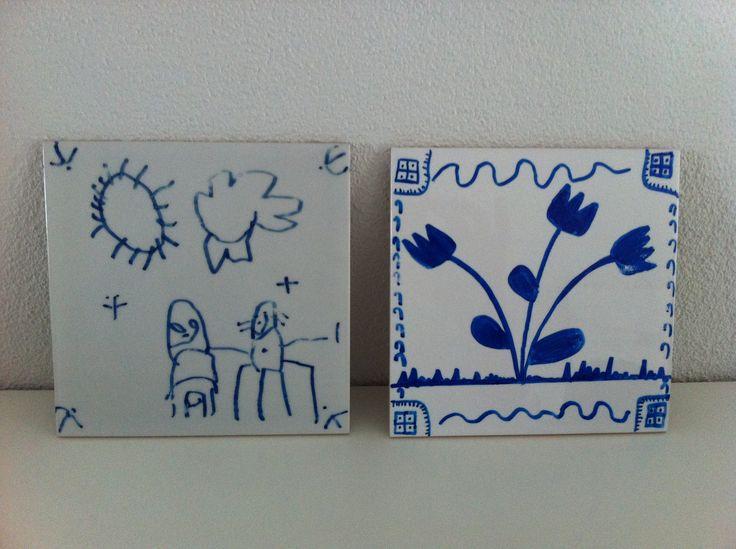 Delfts blauw van Gijs 2008 & 2013