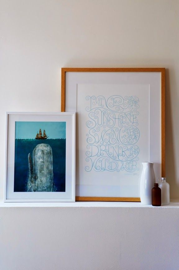 A CUP OF JO: A great way to frame art
