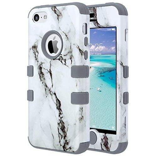 Coque iPhone 5c, ULAK iPhone 5c Case Housse de Protection Anti ...