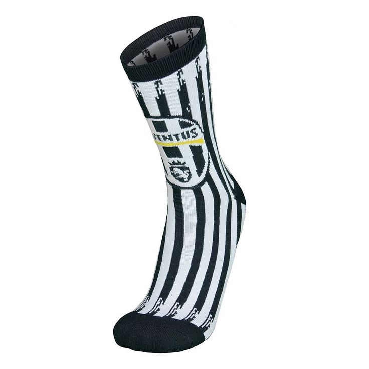 Men's Juventus FC Team Crew Socks, Multicolor