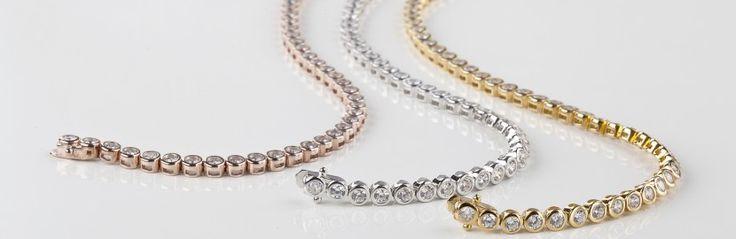 bracciali tennis con 3 colori oro http://molu.it/come-scegliere-bracciale-tennis-diamanti-da-regalare/