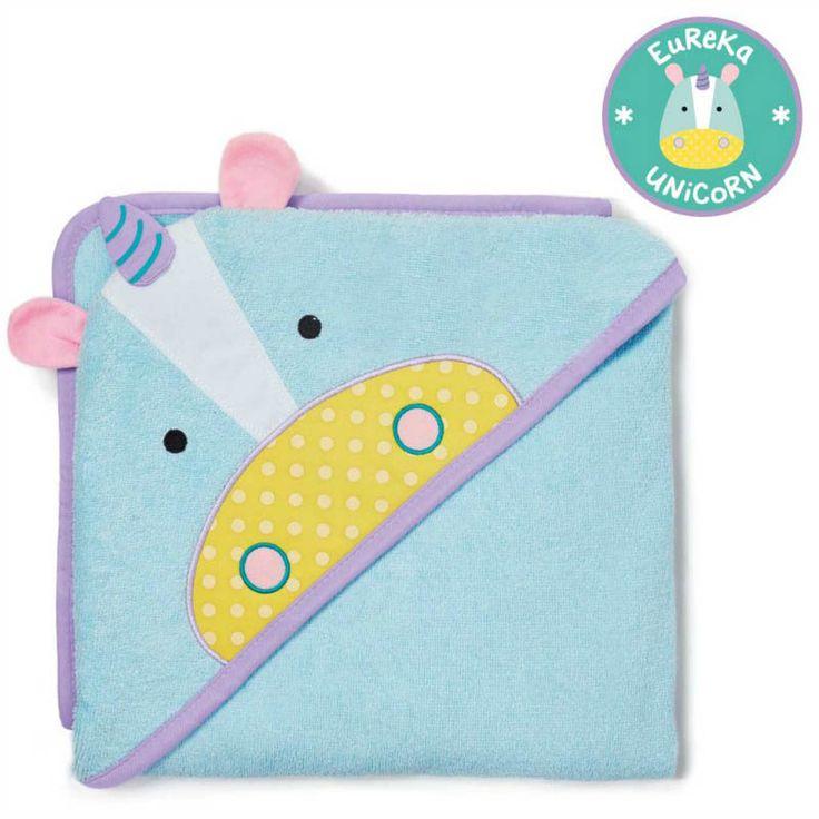 Skip Hop Zoo - Bathtime - Unicorn Hooded Towel