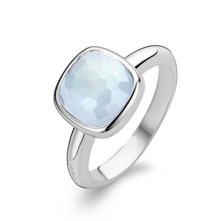 Ti Sento Light Blue Ring | C W Sellors Fine Jewellery and Luxury Watches