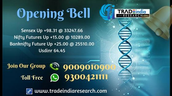 Stock Market #Openingbell #Sensex #Bank #Nifty  #equity #Commodity #stocks #market  #news  currency, depository, online #trading mutual funds. opening Bell Update  - 1st December 2017 By TradeIndia Research  https://goo.gl/3UPPZG