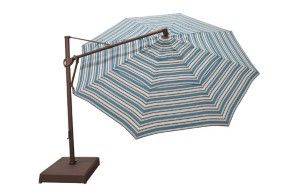 canopy not as shown AKZ 13ft Octagonal Umbrella W 13ft dia  Black Frame, Platinum Frame  Bronze Frame
