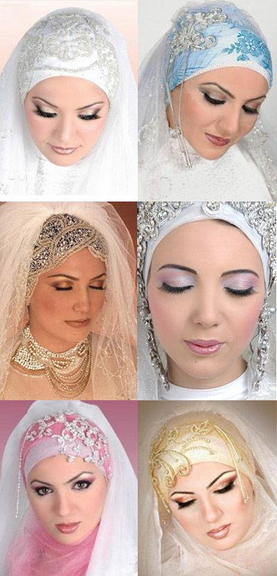 Arabic Wedding Dresses With Hijab: We shear you Wonderful collection of Arabic Wedding Dresses; every woman likes and appreciates this collection. Browse o