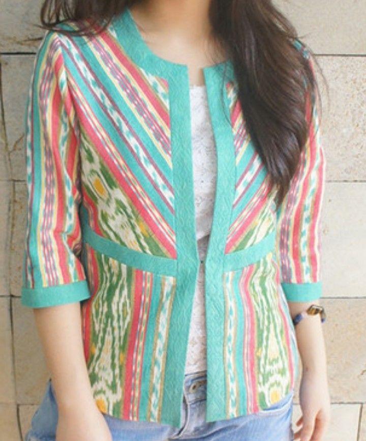 Bright Sumba Woven Fabric