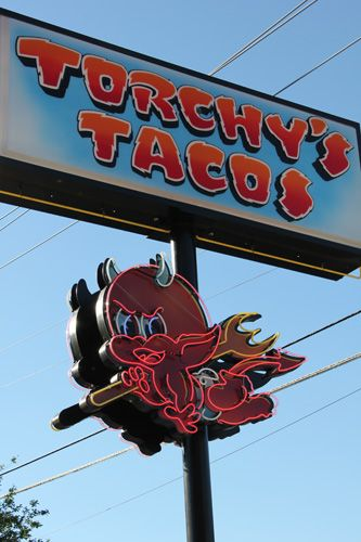Torchy's Tacos - Austin, TX ... This place was fantastic!!! Try the Trailer Park taco, Trashy! So yummy!