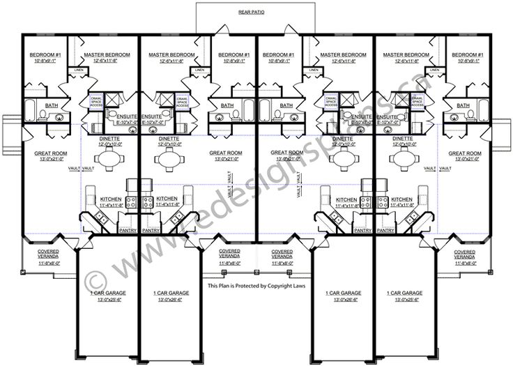 8 best staff missionaries images on pinterest house floor plans floor plans and home plants for Duplex plans for seniors