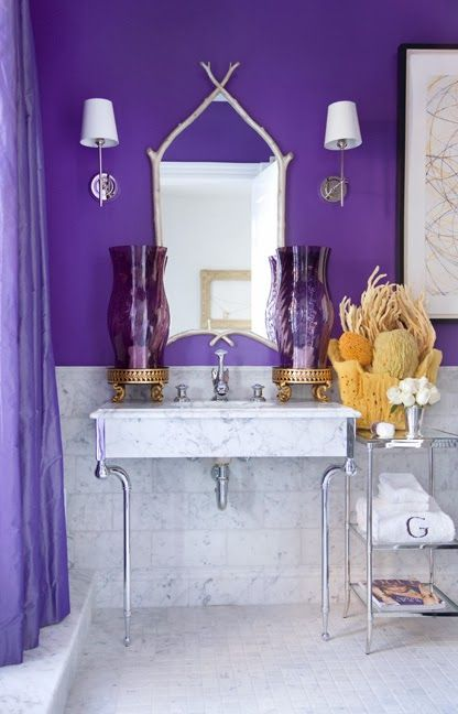 Wow - This orchid hue is a rich and exciting purple!