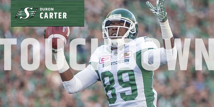 "CFL on Twitter: ""Is that a 🤖or @DC_CHILLIN_8 ??? Either way TOUCHDOWN @sskroughriders  @MarksCanada #LDWeekend https://t.co/UbGFhBzJvH"""