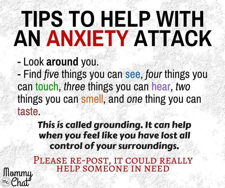 Tips to help with anxiety - grounding
