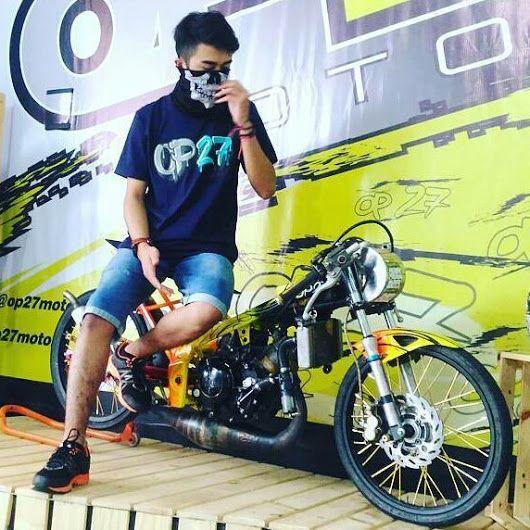 T-shirt OP27 Factory Racing TOP27-016 Navy  @Regrann from @thama_anggoro - #regrann  087845622777 (WA, SMS, & Telp) / D17560D1 (BBM) / op27factory (LINE)