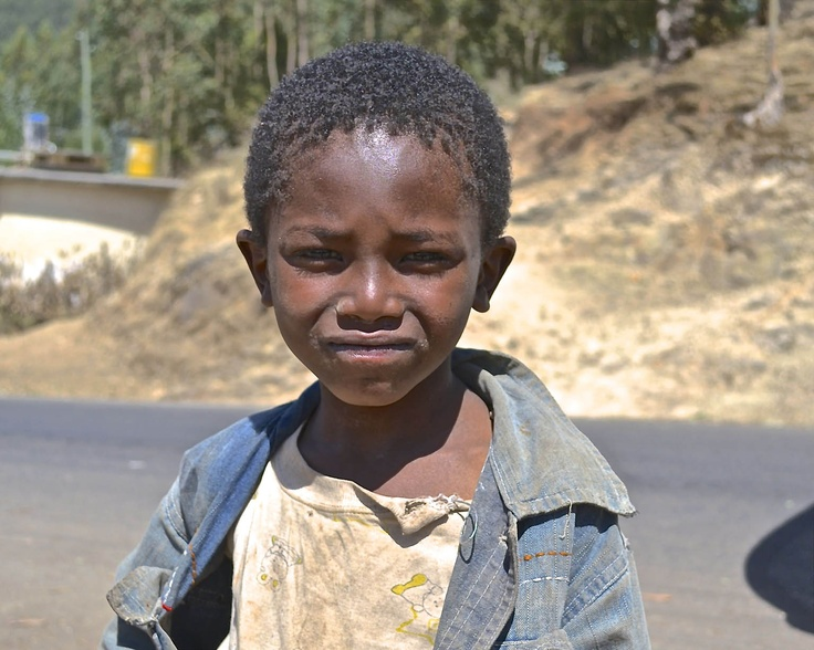 With our fundraising effort this year, we will be supporting this kid and his family and the members of his community. With your help, he just might have a chance to go to school.