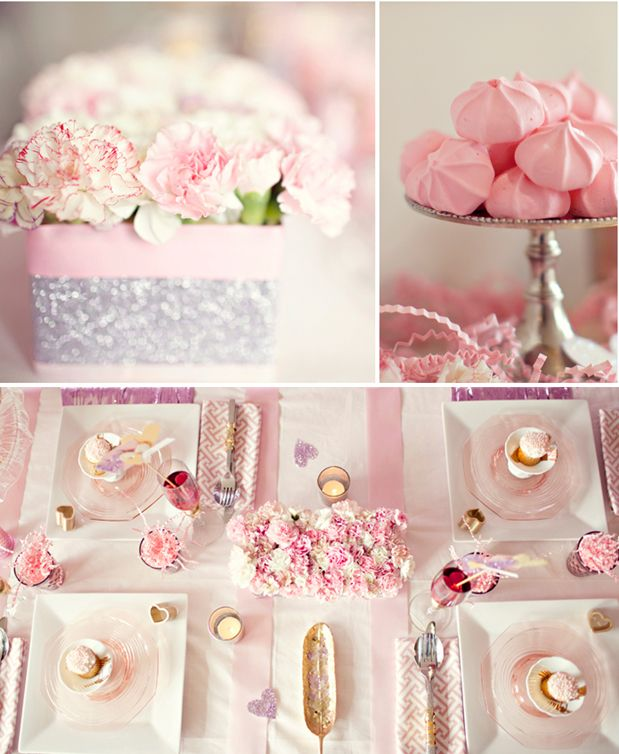 Glam and Glitter bridal shower