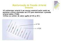Monitorização Invasiva - PAM - Enfermagem em Unidade de Terapi