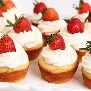 Strawberry shortcake cupcakes.  I need an excuse to make these during strawberry season!!!