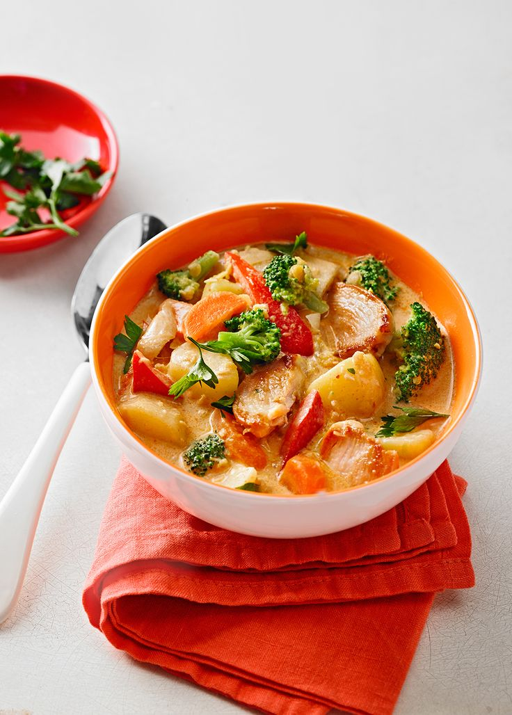 Kartoffel-Brokkoli-Curry