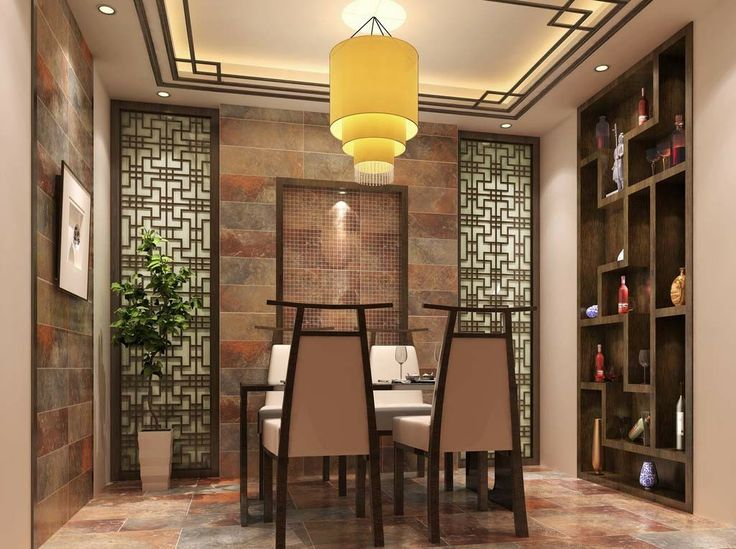 Oriental Chinese Interior Design Asian Inspired Dinning Room Home Decor