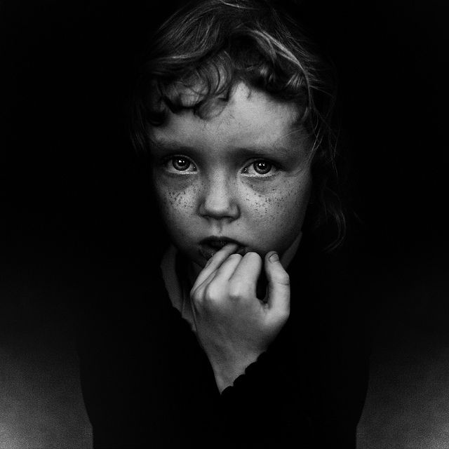 Lee Jeffries photograph of homeless child