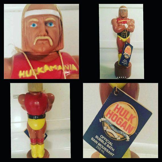 Check out this item in my Etsy shop https://www.etsy.com/ca/listing/248663841/rare-hulk-hogan-bubble-bath-unused-w-tag