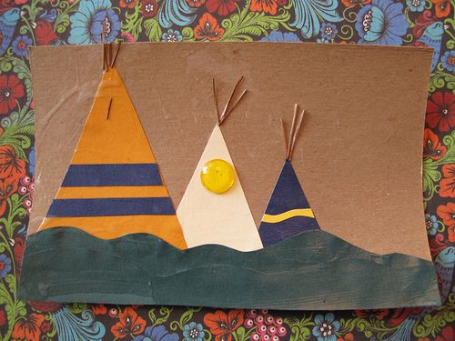 1000 images about unit study native americans on for Easy native american crafts