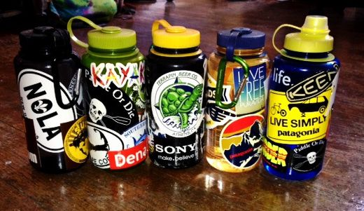 what s the deal with decorating nalgenes