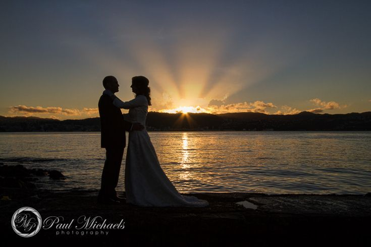 Halswell point lighthouse sunset. Wedding photography Wellington http://www.paulmichaels.co.nz/