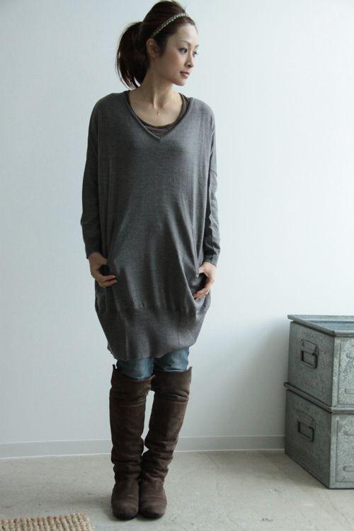 mizuiro-ind knit onepiece 東京都港区南青山3-18-3 南青山KSビル1F