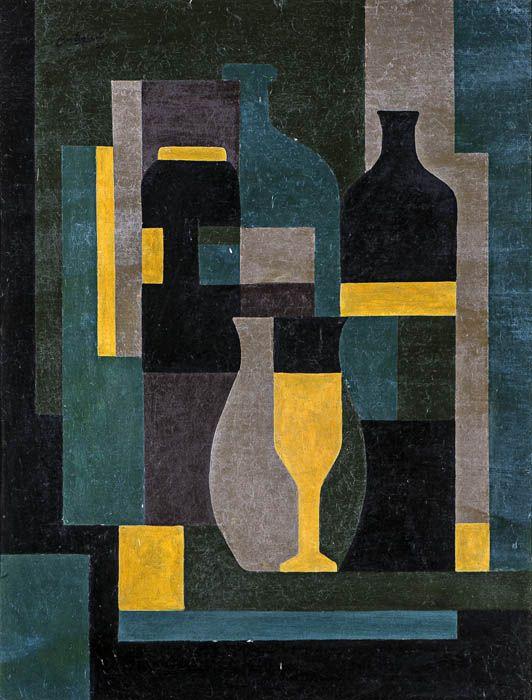 José Pedro Costigliolo (Uruguay, b. Montevideo, 1902, died 1985), Abstracción 1951