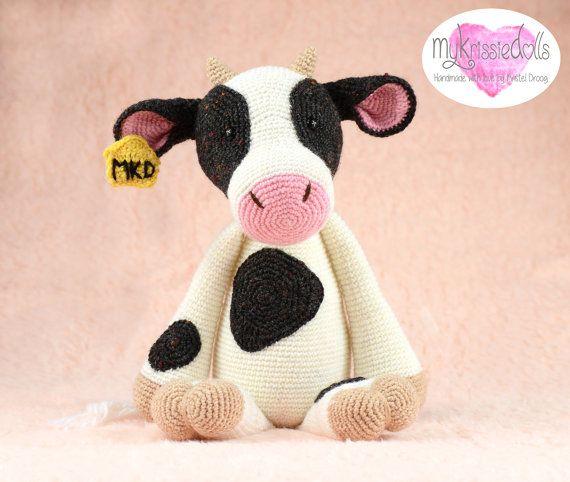 Amigurumi Pattern Little Cows : 1000+ ideas about Crochet Cow on Pinterest Crochet ...