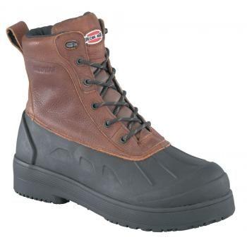 Iron Age WGIA9650 Brown/Black Steel Toe EH, Waterproof Men's Boot