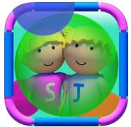 Key Verbs with Steffy & James ($2.49) simple, fun, interactive action app, designed to teach a range of verbs using predictable format of present tense command, followed by descriptions in present & then past tense. 'Learn' mode-children choose a figure from a set of 3, watch character perform a command & hear the action described in present continuous & past tense; 'Test' mode-shows action & gives present tense but stops game to allow users to say action completed, using past tense form.